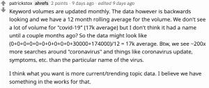Patrick Stox on Reddit