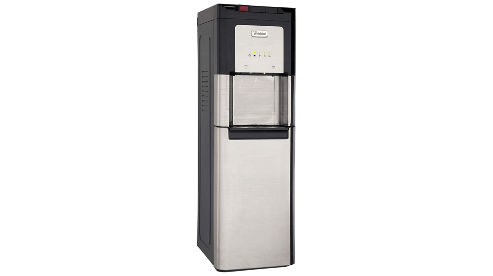 Whirlpool Self Cleaning, Hot and Cold, Stainless Bottom Load Water Cooler