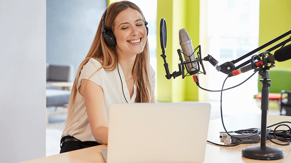Podcast-business
